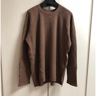 アングリッド(Ungrid)の新品 ワッフルスリットロングスリーブTee(Tシャツ(長袖/七分))
