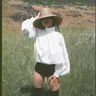 ビューティアンドユースユナイテッドアローズ(BEAUTY&YOUTH UNITED ARROWS)のdelafuent ラフィアハット ハット 麦わら帽子(麦わら帽子/ストローハット)