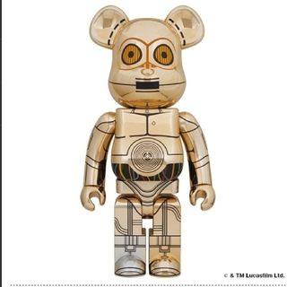 メディコムトイ(MEDICOM TOY)のBE@RBRICK C-3PO(TM) 1000%(キャラクターグッズ)