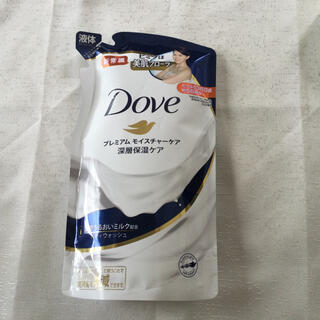 ユニリーバ(Unilever)のダヴ ボディウォッシュ プレミアム モイスチャーケア つめかえ用(360g)②(ボディソープ/石鹸)