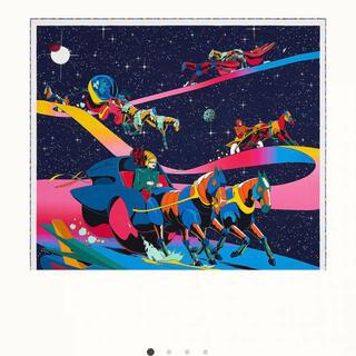 エルメス(Hermes)のエルメス スペースダービー シルクカレ90(バンダナ/スカーフ)