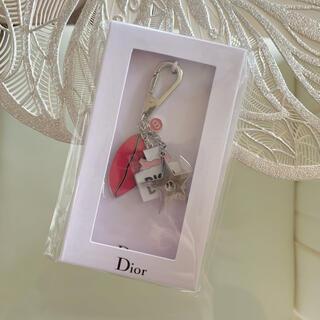 ディオール(Dior)のDior ディオール キーホルダー  バッグチャーム(キーホルダー)