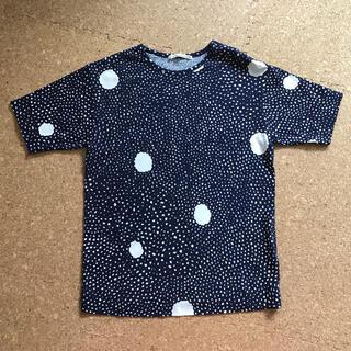 ミナペルホネン(mina perhonen)のミナペルホネン Tシャツ skum  130cm(Tシャツ/カットソー)