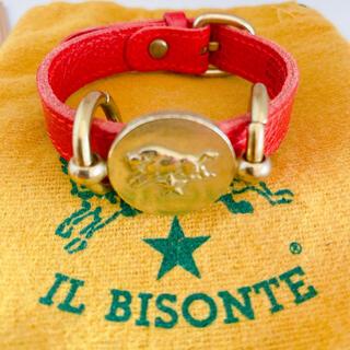 イルビゾンテ(IL BISONTE)の値下げ!IL BISONTE   イルビゾンテ ブレスレット 牛革(ブレスレット)