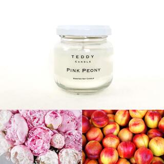 バスアンドボディーワークス(Bath & Body Works)のピンクピオニーの香り★新品アロマソイキャンドル(キャンドル)