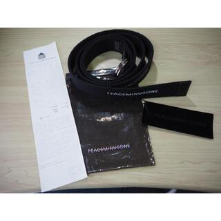 PEACEMINUSONE - 【希少商品】peaceminusone belt black