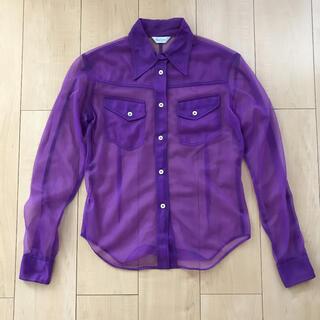 ポールスミス(Paul Smith)のPaul Smith レディースシースルーシャツ サイズ40(シャツ/ブラウス(長袖/七分))