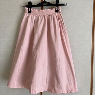 インデックス(INDEX)のindex ピンク スカート(ひざ丈スカート)