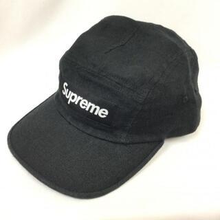 Supreme SUPREME シュプリーム リネン 麻 ジェット キャップ 帽(キャップ)