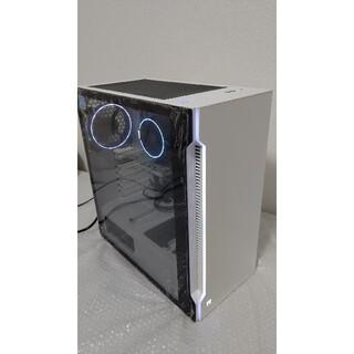 美品  ゲーミングPC H200 TG Ryzen5 SSD  ホワイトPC(デスクトップ型PC)