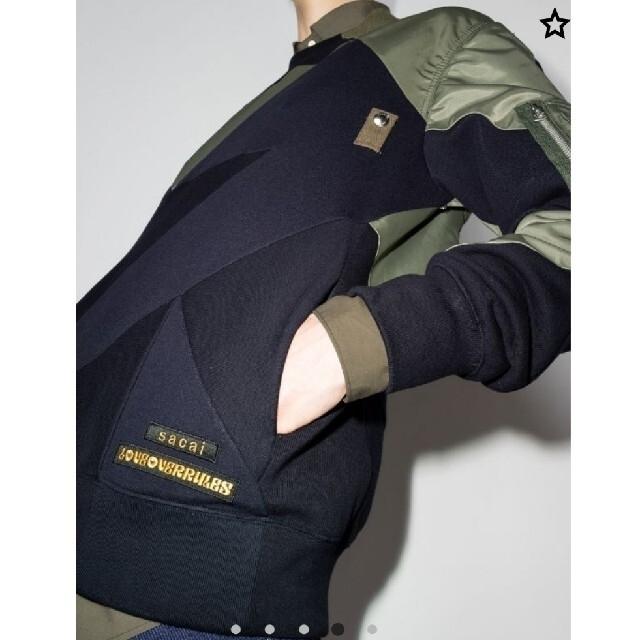 sacai(サカイ)のサイズ1完売品 新品 sacai スポンジ スウェット メンズのトップス(スウェット)の商品写真