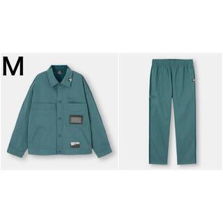 GU - GU ミハラヤスヒロ シェフジャケット パンツ M セットアップ Blue