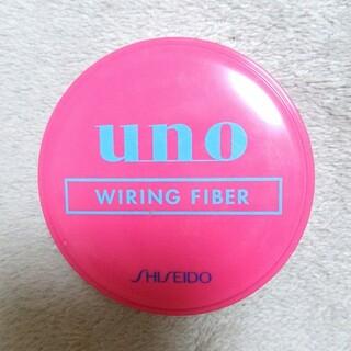 ウーノ(UNO)のUNO ワイヤリングファイバー 整髪料 ヘアワックス メンズ 80g(ヘアワックス/ヘアクリーム)