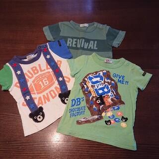 ダブルビー(DOUBLE.B)のダブルB・BeBe 80サイズTシャツ(Tシャツ)