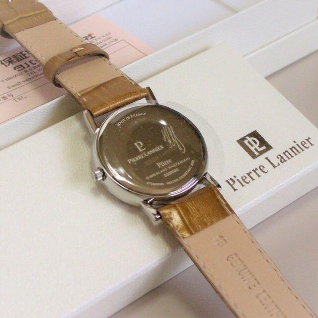 Pierre Lannier(ピエールラニエ)のピエール・ラニエ 腕時計 クオーツ ネコ レディースのファッション小物(腕時計)の商品写真