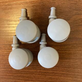 ムジルシリョウヒン(MUJI (無印良品))の無印良品 ポリプロピレン収納ケース用キャスター 4個セット(ケース/ボックス)