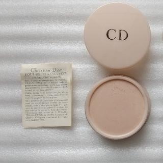 クリスチャンディオール(Christian Dior)のChristian Dior フェイスパウダー 718番 SHEER ROSE(フェイスパウダー)