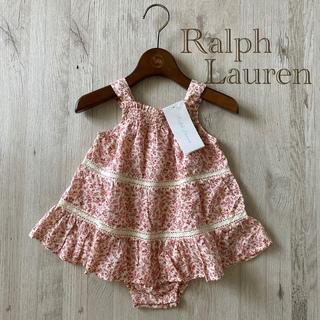 Ralph Lauren - 新品 ラルフローレン  ロンパース  ワンピース