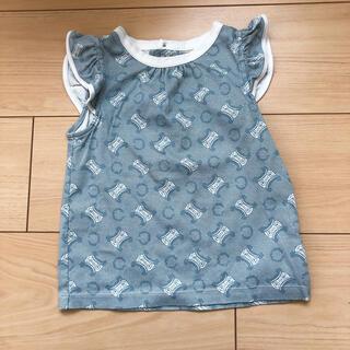 セリーヌ(celine)のセリーヌ ◆半袖フリルTシャツ100(Tシャツ/カットソー)