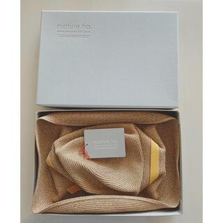 IENA - mature ha BOXED HAT 11㎝ brim (57.5㎝) 美品