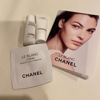 シャネル(CHANEL)のシャネル ルブラン ローション クリーム セット(化粧水/ローション)