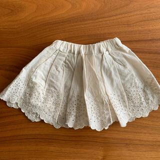 プティマイン(petit main)のpetit main 裾レーススカラップスカート 90(スカート)