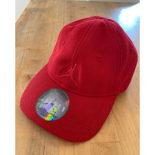 ナイキ(NIKE)のジョーダン JODAN キッズ キャップ 赤 NIKE ナイキジョーダン(帽子)