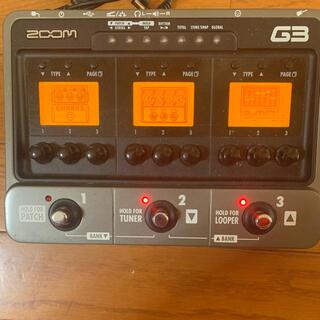 ズーム(Zoom)のzoom G3(エフェクター)