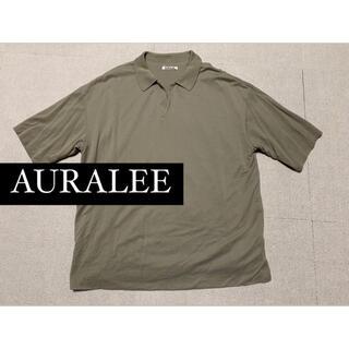 コモリ(COMOLI)のAURALEE 2020 SS ポロシャツ(ポロシャツ)