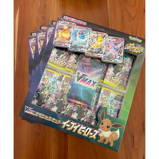 ポケモン(ポケモン)のイーブイヒーローズ VMAXスペシャルセット ブイマックススペシャルセット 4個(Box/デッキ/パック)