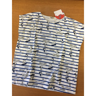 ピーナッツ(PEANUTS)の【スヌーピー/PEANUTS】ボーダーTシャツ150cm◆タキヒヨー(Tシャツ/カットソー)