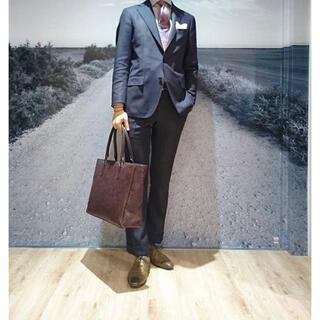 THE SUIT COMPANY - スーツカンパニー スーツ セットアップ ブラウン ビジネス 結婚式 オシャレ