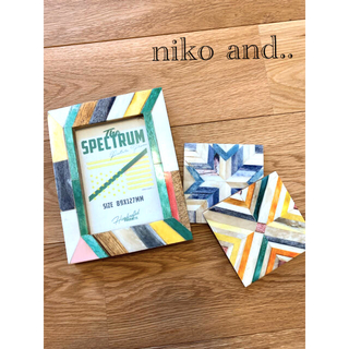ニコアンド(niko and...)のniko and... フォトフレーム コースター(フォトフレーム)