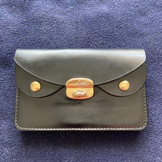 ジェイアンドエムデヴィッドソン(J&M DAVIDSON)の英国の高級革製品メーカーJ & M Davidson本革財布黒色良品(財布)