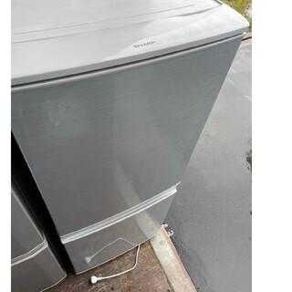 シャープ(SHARP)のSHARP 2ドア冷蔵庫137L 💍2016年製💍(冷蔵庫)