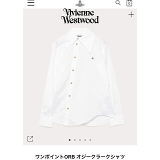 ヴィヴィアンウエストウッド(Vivienne Westwood)の琳様 vivienne westwood MAN ワンポイントシャツ(シャツ)