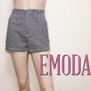 エモダ(EMODA)の超小尻♪エモダ ハイウエスト ストレッチショートパンツ♡ザラ デュラス(ショートパンツ)