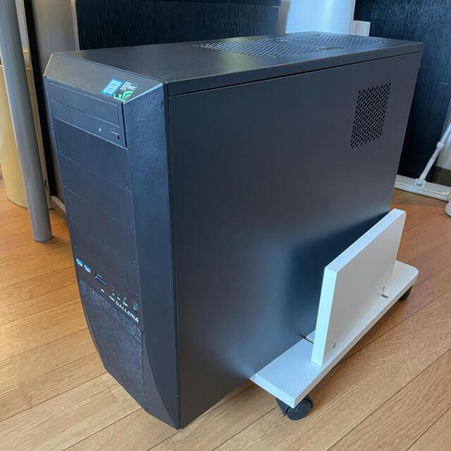 GALLERIA (ガレリア)ZV   PCケース PCパーツ スマホ/家電/カメラのPC/タブレット(PCパーツ)の商品写真