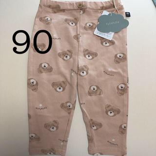 フタフタ(futafuta)のfutafuta フタクマ くま レギンス パンツ 90 ピンク(パンツ/スパッツ)