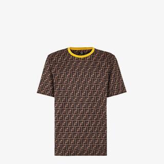 フェンディ(FENDI)の新品未使用 FENDI フェンディ FF LOGO ロゴ Tシャツ L(Tシャツ/カットソー(半袖/袖なし))