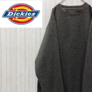 ディッキーズ(Dickies)のディッキーズ トレーナー スウェット ダークグレー ビッグサイズ XL(スウェット)