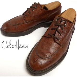 コールハーン(Cole Haan)のイタリア製 コールハーン COLEHAAN シボ革 Uチップシューズ27cm(ドレス/ビジネス)