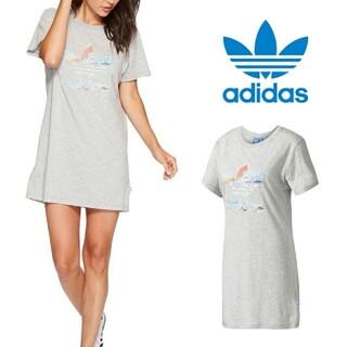 アディダス(adidas)の新品 S アディダス オリジナルス レディース タンクドレス ワンピース(ミニワンピース)