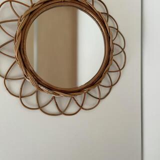 アクタス(ACTUS)のアラログミラー ラタンミラー ラタン 鏡 壁掛け鏡(壁掛けミラー)