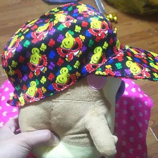 ヒステリックミニ(HYSTERIC MINI)のるりしゃん❤帽子→54~60ぐらい(帽子)