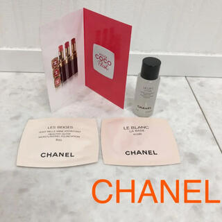 シャネル(CHANEL)のCHANELコスメサンプル4点(化粧水/ローション)