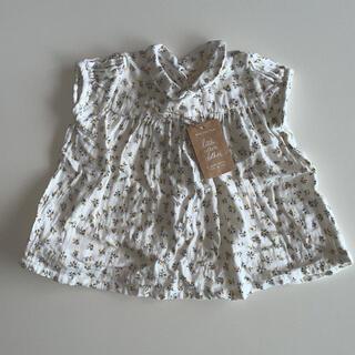 キャラメルベビー&チャイルド(Caramel baby&child )のlittle cotton clothes  ブラウス 3y-4y(ブラウス)