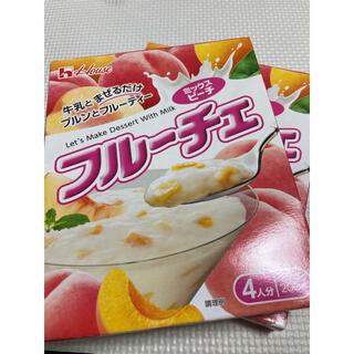 ハウスショクヒン(ハウス食品)のフルーチェ ミックス ピーチ セット(菓子/デザート)