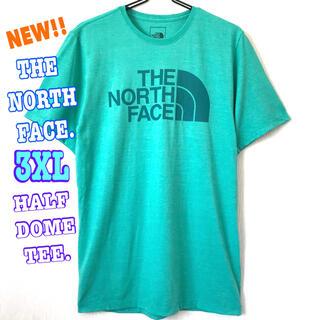 ザノースフェイス(THE NORTH FACE)の夏色 ☆ 新品 ノースフェイス ハーフドーム Tシャツ 3XL 4L(Tシャツ/カットソー(半袖/袖なし))