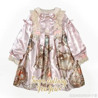 アンジェリックプリティー(Angelic Pretty)の海外製品 ロリータ~骨董人形 ワンピース(ひざ丈ワンピース)